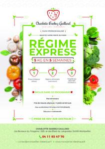 regime express flyer